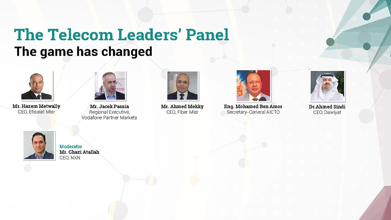The Telecom Leaders' panel: The game has changed