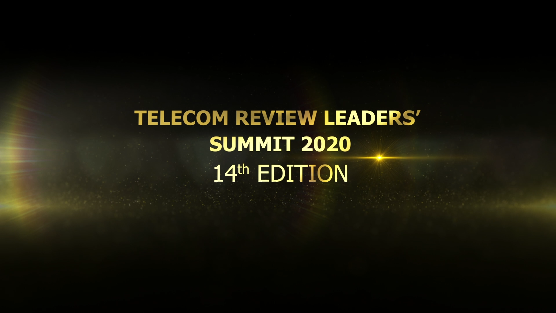 Join the 14th Telecom Review Leaders' Summit 2020