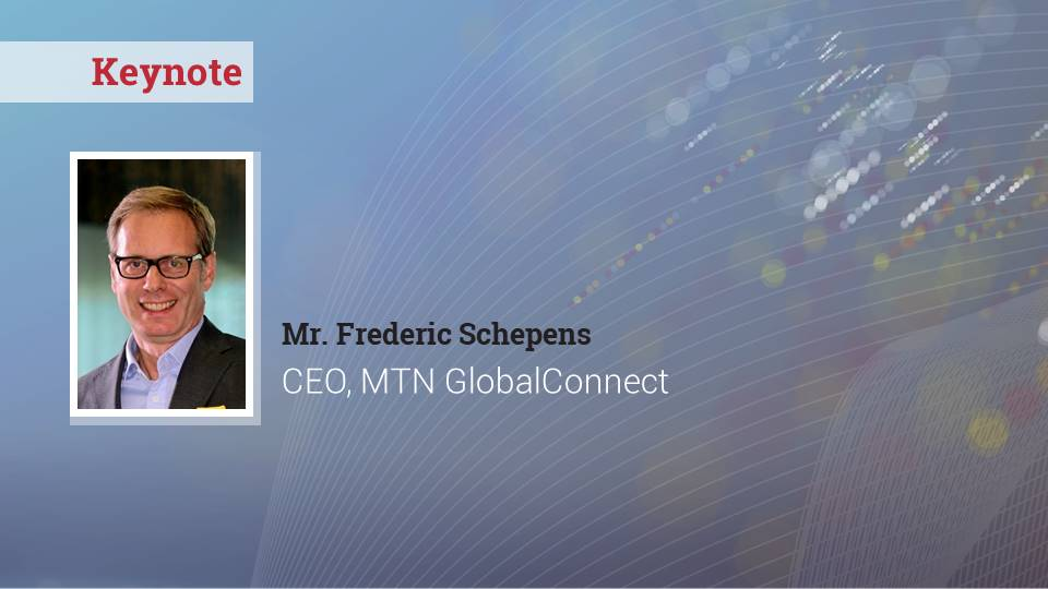 Keynote by Frederic Schepens, MTN GlobalConnect